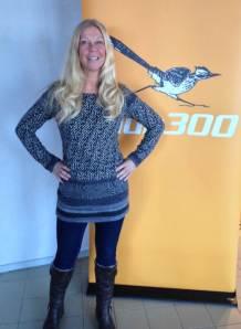 Gigi, styrelseledamot i Club300. Foto Kjell Yngerskog