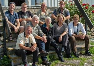 Vi som är med i FIK.  överst fr v Daniel, Kent-Ove, Gigi. Göran. Nedre raden fr v Anders, Staffan. Maria, Anette, Andreas.