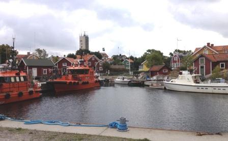 Västerhamn i Landsorts by (Storhamn)