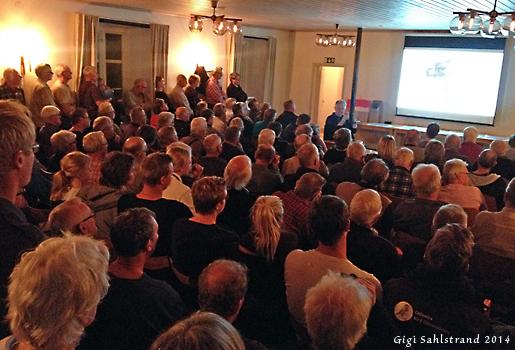 Föreläsningssalen blev proppfull när finska Dick Forsman skulle prata och visa sin bilder - Rovfåglar, nytt och nyttigt.